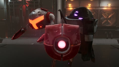 Sci-Fi Drones - (Unreal Engine 4 Game Ready Characters)