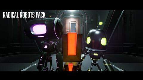 Radical Robots Pack - Unreal Engine 4