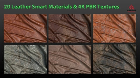 20Leather Smart Materials & 4k PBR Texture