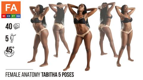 Female Anatomy | Tabitha 5 Various Poses | 40 Photos