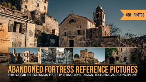 480+ Abandoned Fortress Reference Pictures