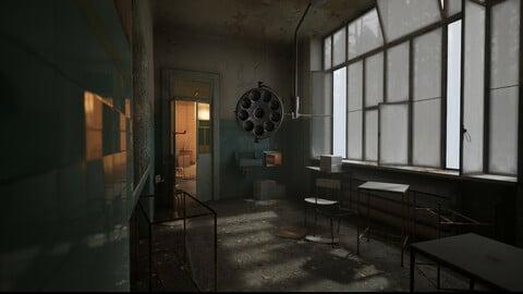 Abandoned Asylum [UE4]