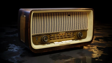 Old Antique Radio