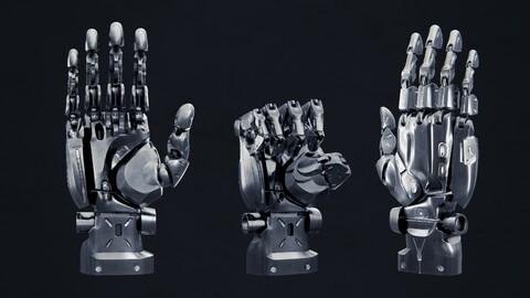 Robot Hand - Rigged