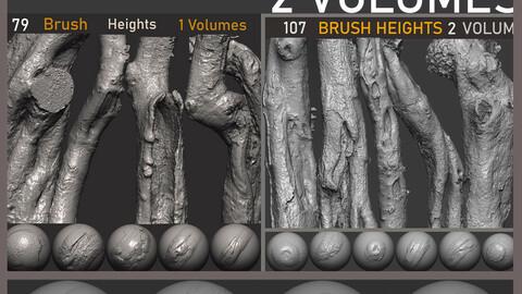 Z brush - Trunk Detail Brushes 2 Volumes