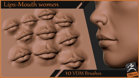 Lips Mouth women VDM