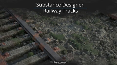 Substance Designer - Railway Tracks