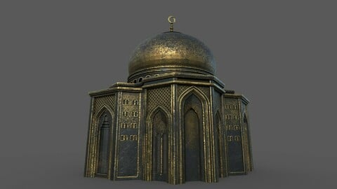 Arabic monument