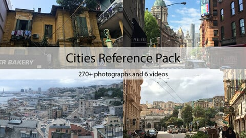 Cities Reference Pack