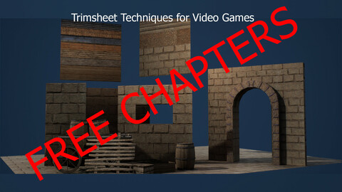 [Free] Trim Sheet Techniques for Video Games [Final Results]