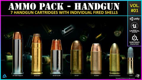 Ammo Pack 01 - Handgun