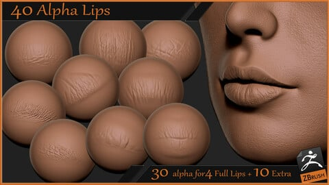 40 Alpha Lips -pack1