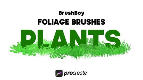 Procreate Foliage Brushes - Plants