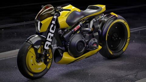 Cyberpunk ARCH Motorcycle