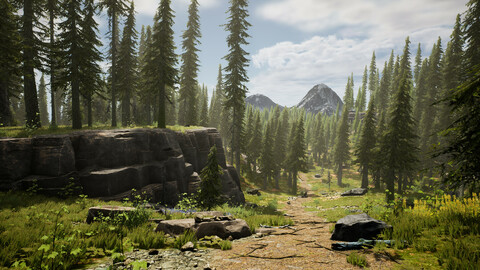 Spruce Forest (UE4)