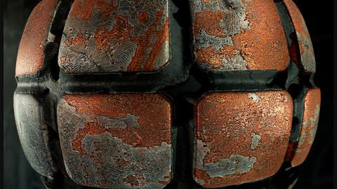 PBR -  METAL SCIFI FLOOR  + BONUS - 4K MATERIAL