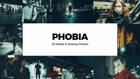 20 Phobia LUTs and Lightroom Presets