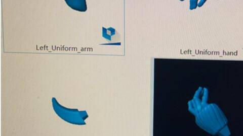 left arm modeus