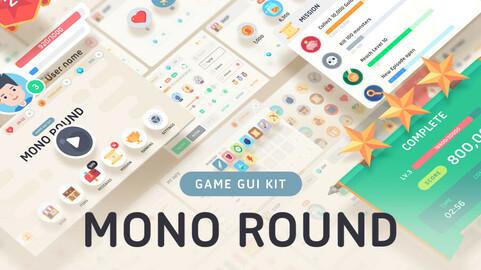 GUI Kit - Mono Round