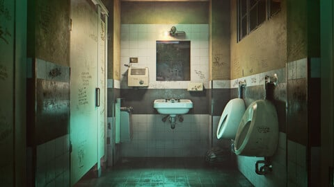 ''Joker'' Bathroom