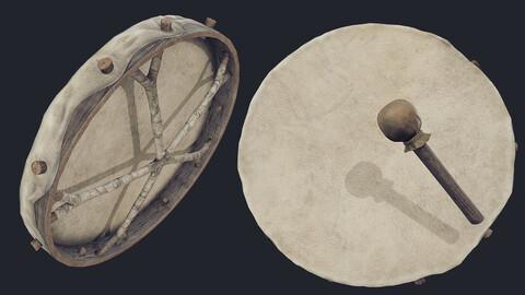 Nordic Shaman Drum - PBR