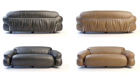 Sesann sofa's Cassina 3D Model