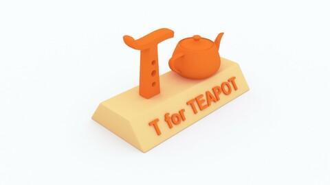 T for Teapot Model