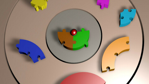 Animated Puzzle Intro