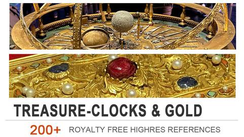 Treasure-Clocks and gold