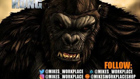 #TeamKong Godzilla vs Kong