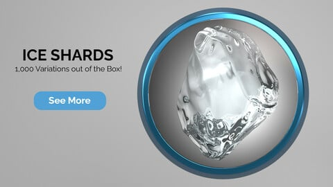 Ice Shards for Cinema 4D R20 to R22