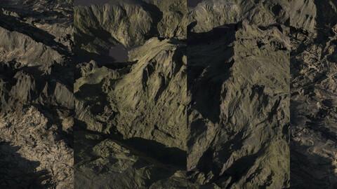 45 Rocky landscapes  | 8K | 32 bit