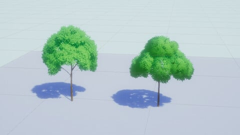 How to Make Stylized Tree by using Blender and Unity