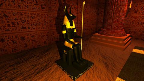Anubis God Sculpture