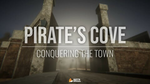 Pirate's  Cove - Conquering the Town - Blender|FBX