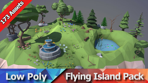 Flying Island Nature Pack