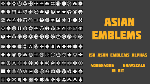 Asian Emblems