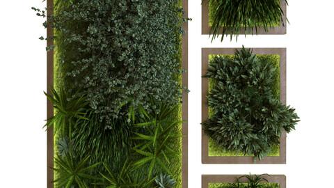 green wall set 039