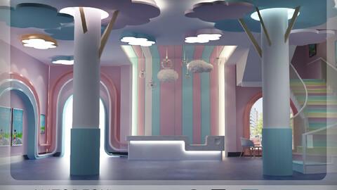 Interior - Modern Style Kids Area