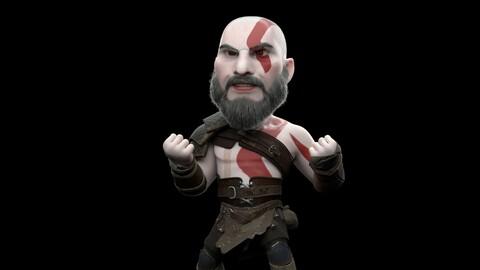 Kratos (Stylized) V- 1.0