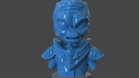 Crypto 137 Destroy all Humans Bust