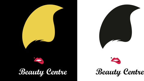 Beauty Centre Example Logo Vector