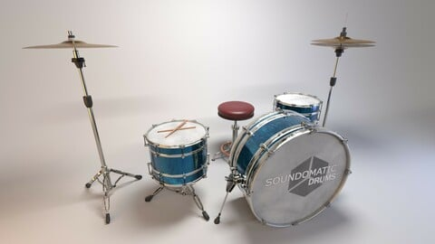 Drum Set Prop/Asset