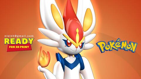 Cinderace - Pokemon Fanart
