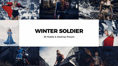20 Winter Soldier LUTs and Lightroom Presets