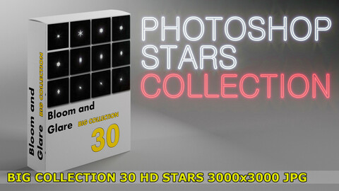 30 Photoshop STARS collection vol.2 for professional