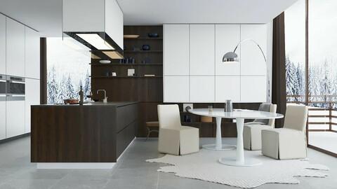 kitchen colecction 1 - 3d