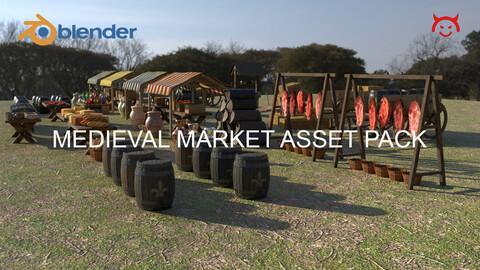 Medieval Market Asset Pack