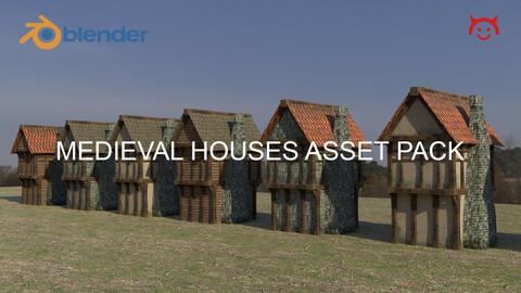 Medieval Houses Asset Pack