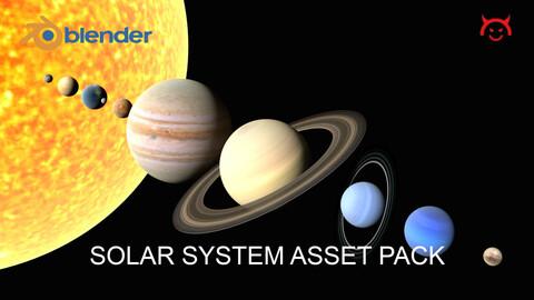Solar System Asset Pack